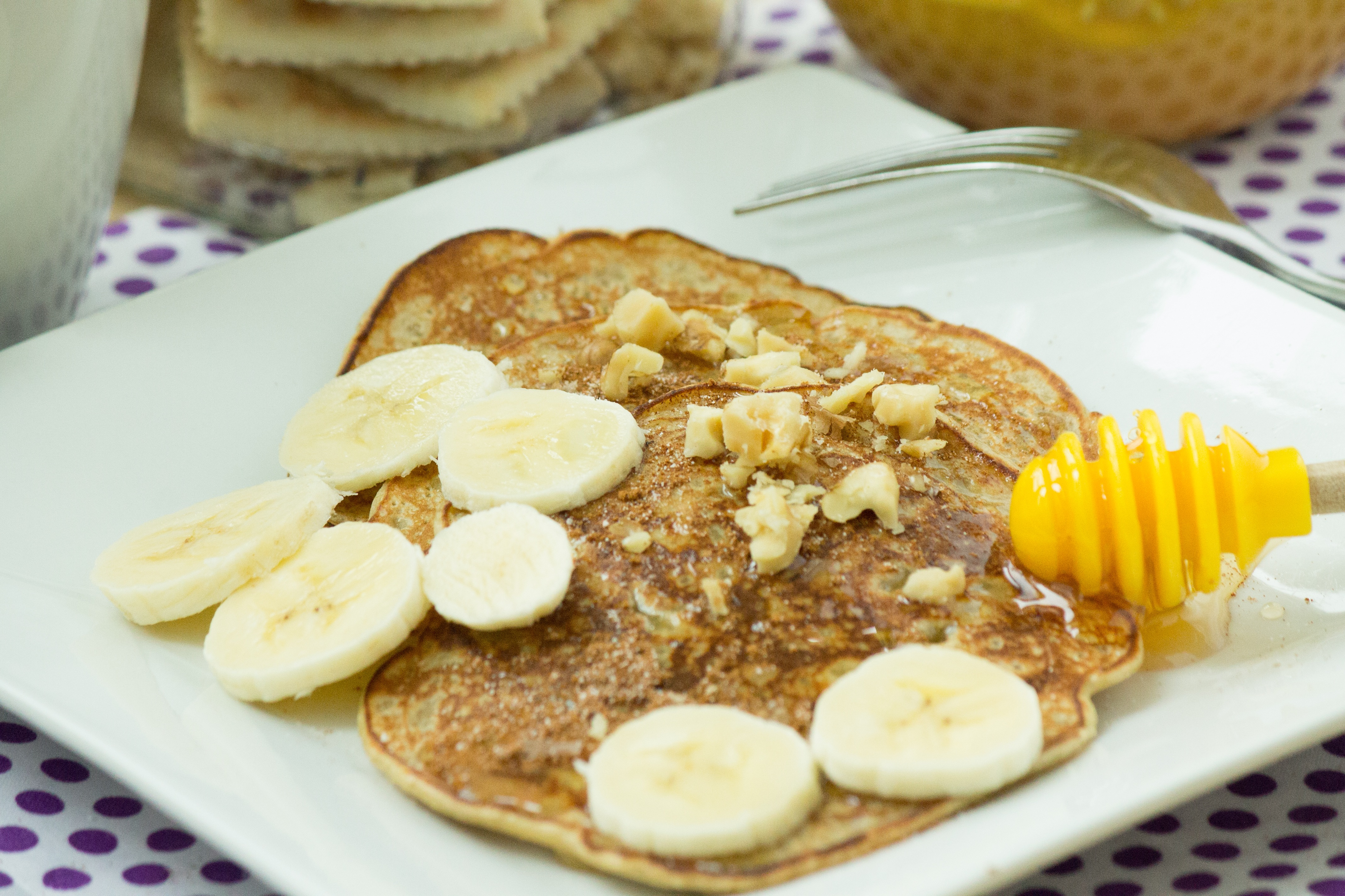 Banana Walnut Pancake