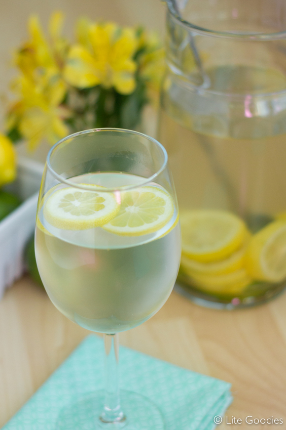 Detox Ginger Iced Tea Recipe | Lite Goodies