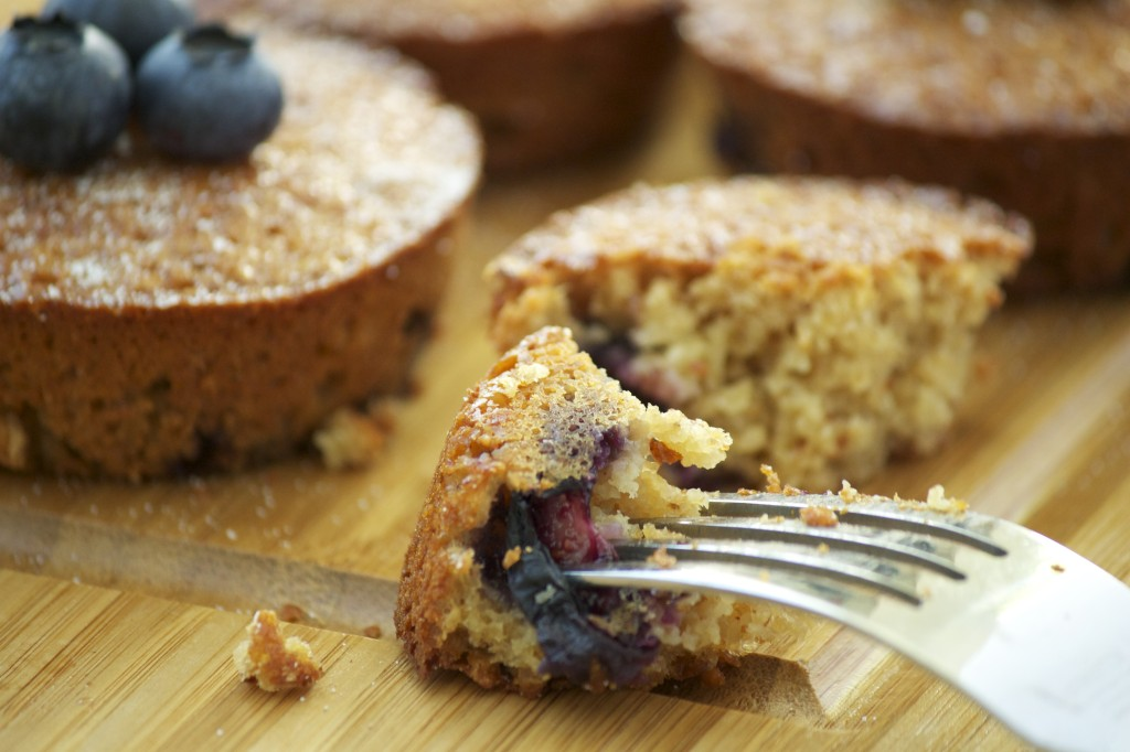 Blueberry Cake Recipe - Healthy Snack Idea