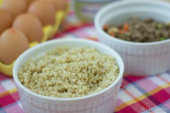 Quinoa Pie Crust Ingredients