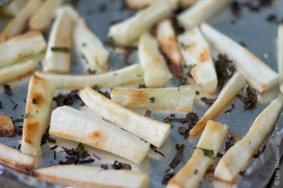 Baked Cassava Fries