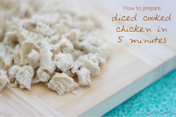 Diced Cooked Chicken Recipe