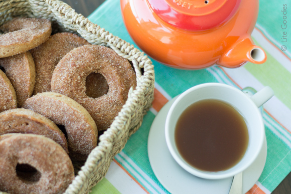 Healthy Apple Cinnamon Donut Recipe
