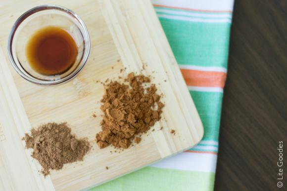 Healthy Apple Cinnamon Donut Ingredients