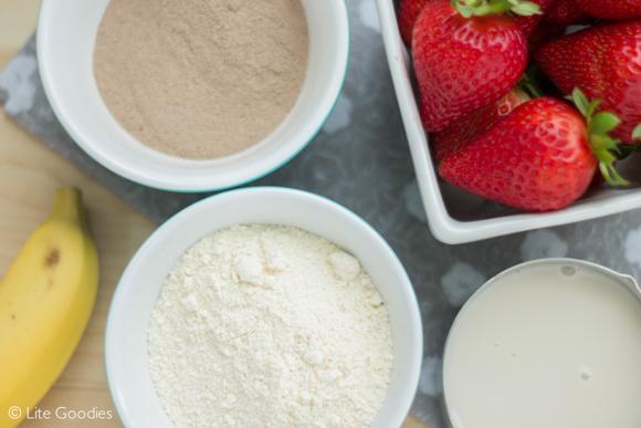 Protein Pancakes Recipe - Ingredients