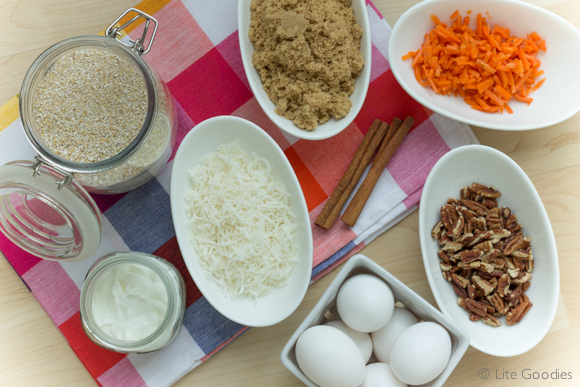 Healthy Carrot Cake Recipe Ingredients