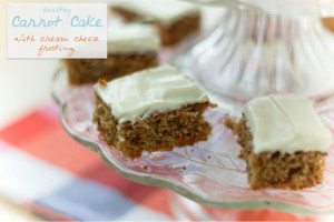 Healthy Carrot Cake Recipe - with Cream Cheese Frosting | Lite Goodies