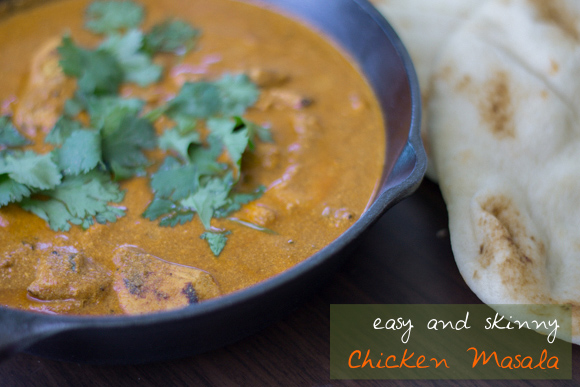 Chicken Masala- Easy and Skinny