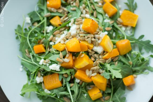 Butternut Squash and Arugula Salad