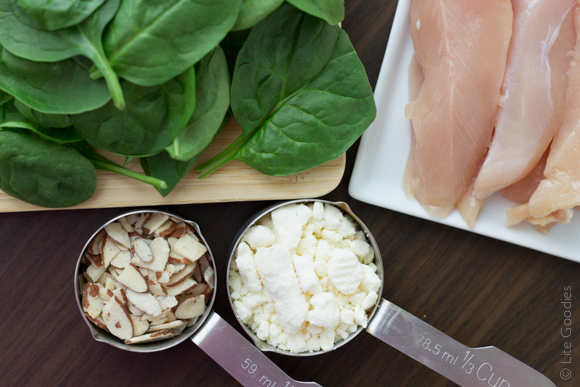 Chicken Salad with Lentils and Spinach