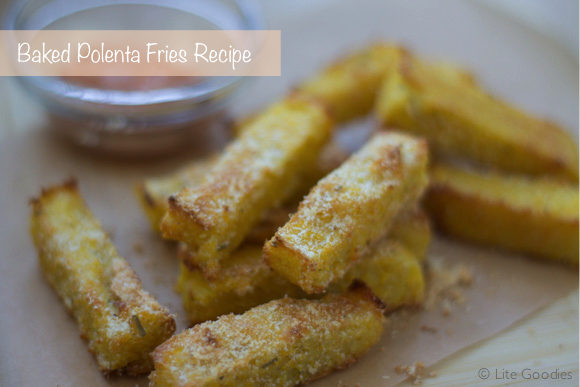 Baked Polenta Fries Recipe | Healthy, Crispy and Delicious | Lite ...