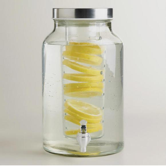 Lite Goodies Week Favorites - Glass Infuser Dispenser