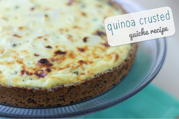 Quinoa Crusted Quiche Recipe