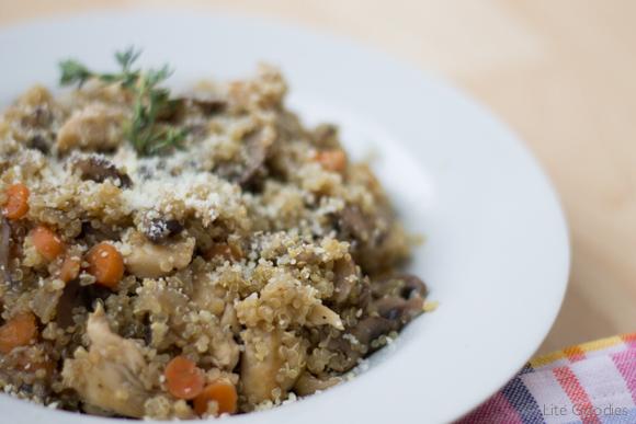 Quinoa Couscous with Chicken & Mushrooms -13