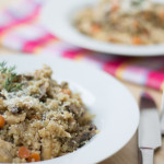 Quinoa Couscous with Chicken & Mushrooms -16