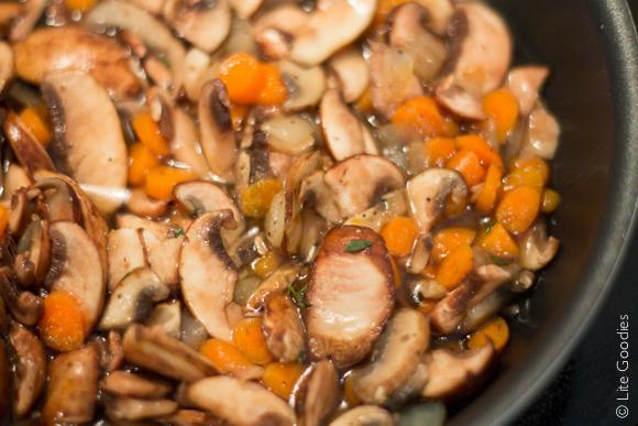 Quinoa Couscous with Chicken & Mushrooms -7