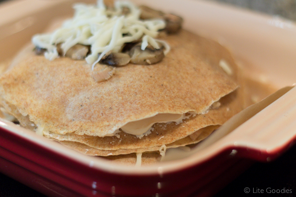 Whole Grain Layered Crepe - How to Prepare