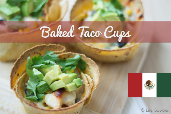 Chicken Baked Taco Cups Recipe - Healthy and Delicious