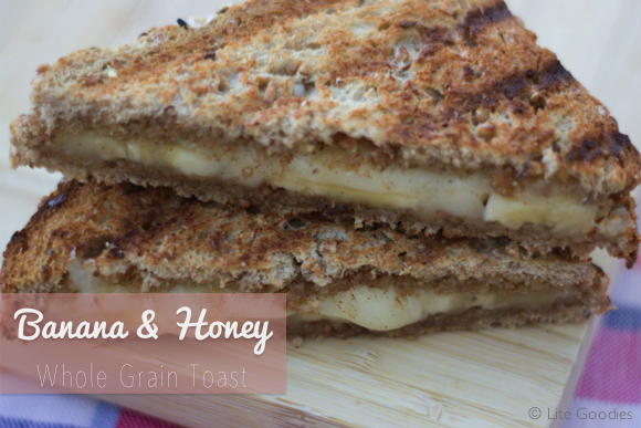 Banana & Honey - Whole Grain Toast