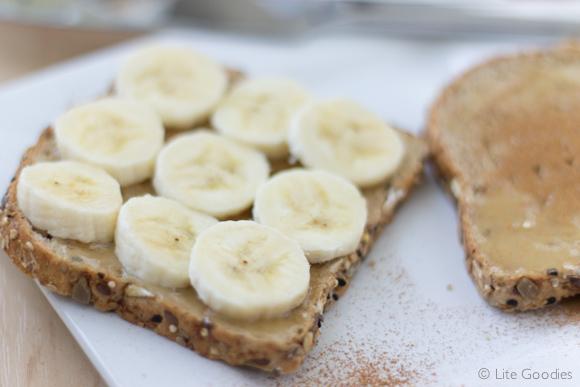 Honey and Banana Whole Grain Toast