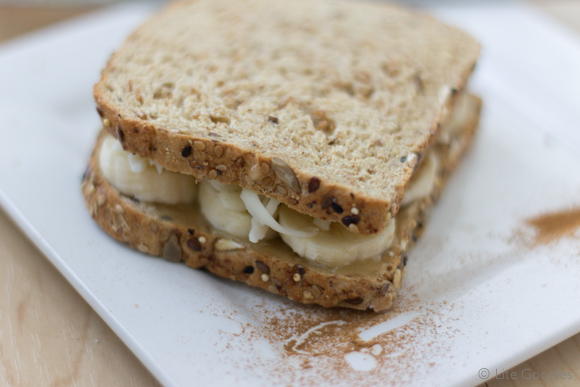 Honey and Banana Whole Grain Toast